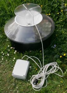 Standard Robinson moth trap