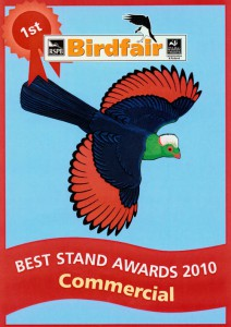 Birdfair Best Stand Award 2010