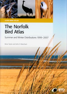 The Norfolk Bird Atlas jacket image