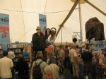 The NHBS stand at Birdfair 2011