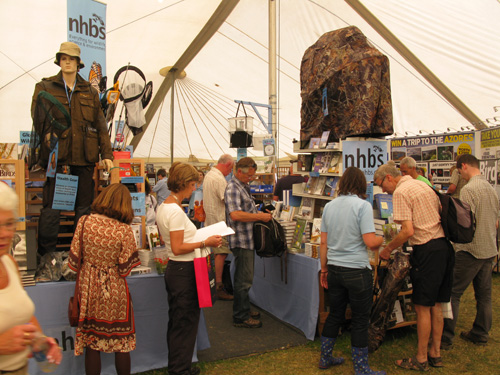 Business as usual for NHBS at Birdfair