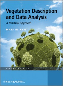 Vegetation Description and Data Analysis jacket image