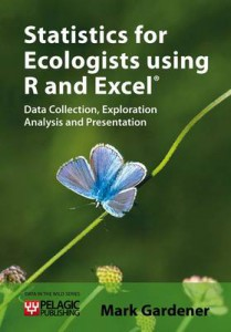 Statistics for Ecologists Using R and Excel jacket image