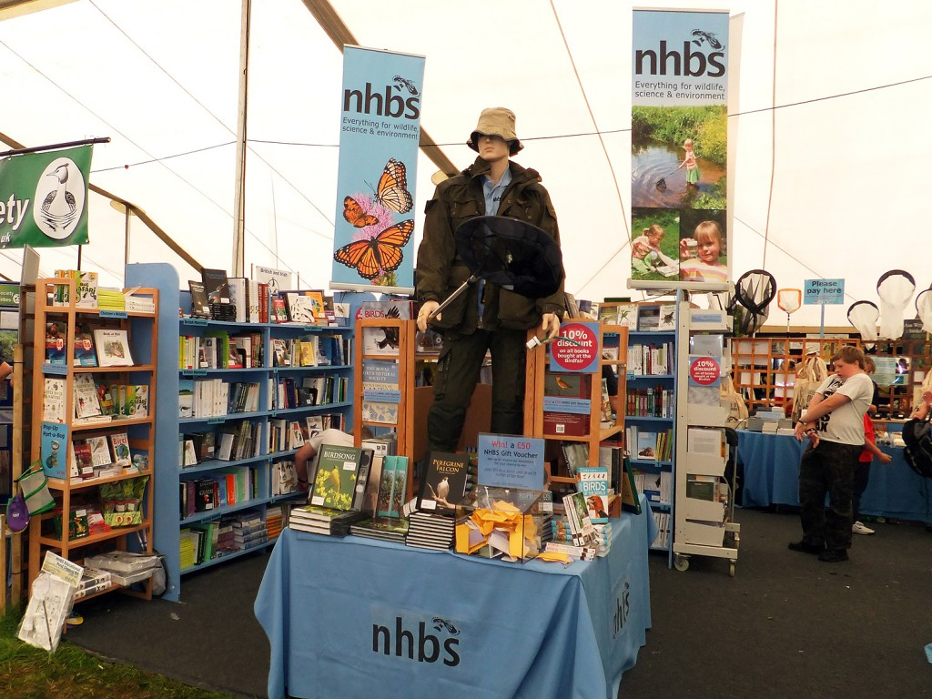 The NHBS stand in Marquee Two