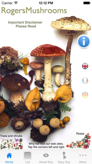Apps for Wildlife Lovers - Rogers Mushrooms