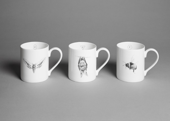 Creature Candy mugs