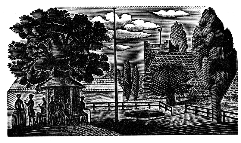 Eric Ravilious illustration fromThe Natural History of Selborne