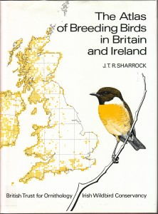 1976 British and Iriah atlas; image courtesy BTO