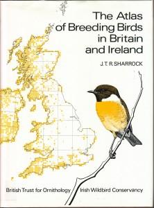 1976 British and Iriah atlas; image courtesy BTO