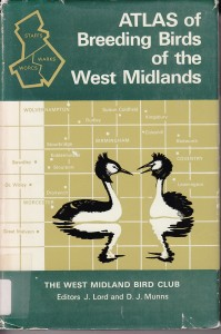 1970 West Midlands atlas; image courtesy BTO