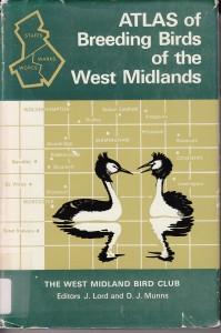 1970 West Midlands atlas; image courtesy BTO