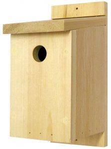 Traditional Wooden Bird Box