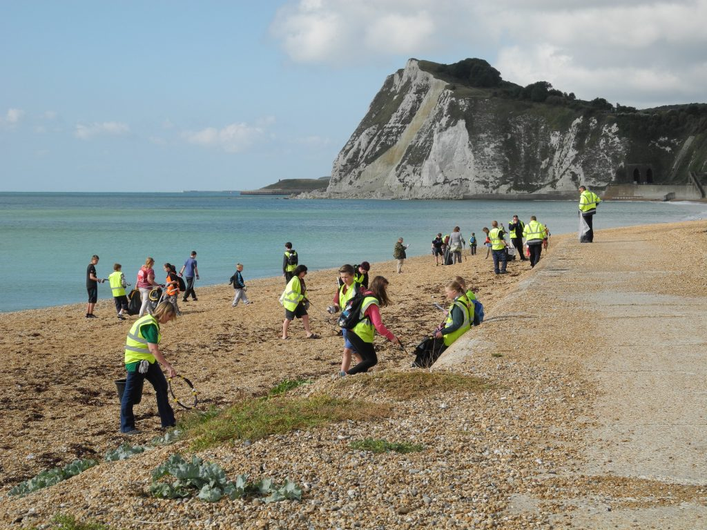 2014 Great British Beach Clean - Port of Dover