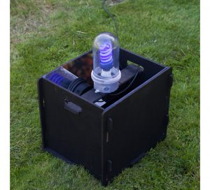 Flatpack Skinner Moth Trap with Electrics