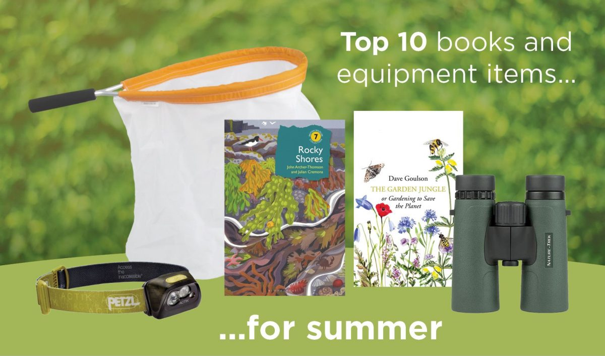 Top ten books and wildlife equipment for summer